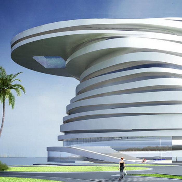 фото футуристической архитектуры
