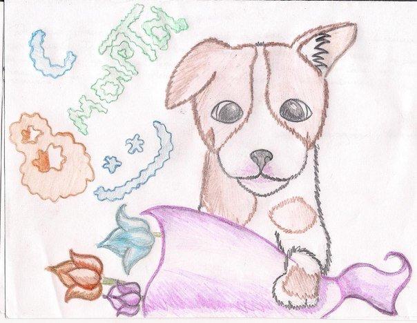 В.кирдий, какую открытку нарисовать маме просто так