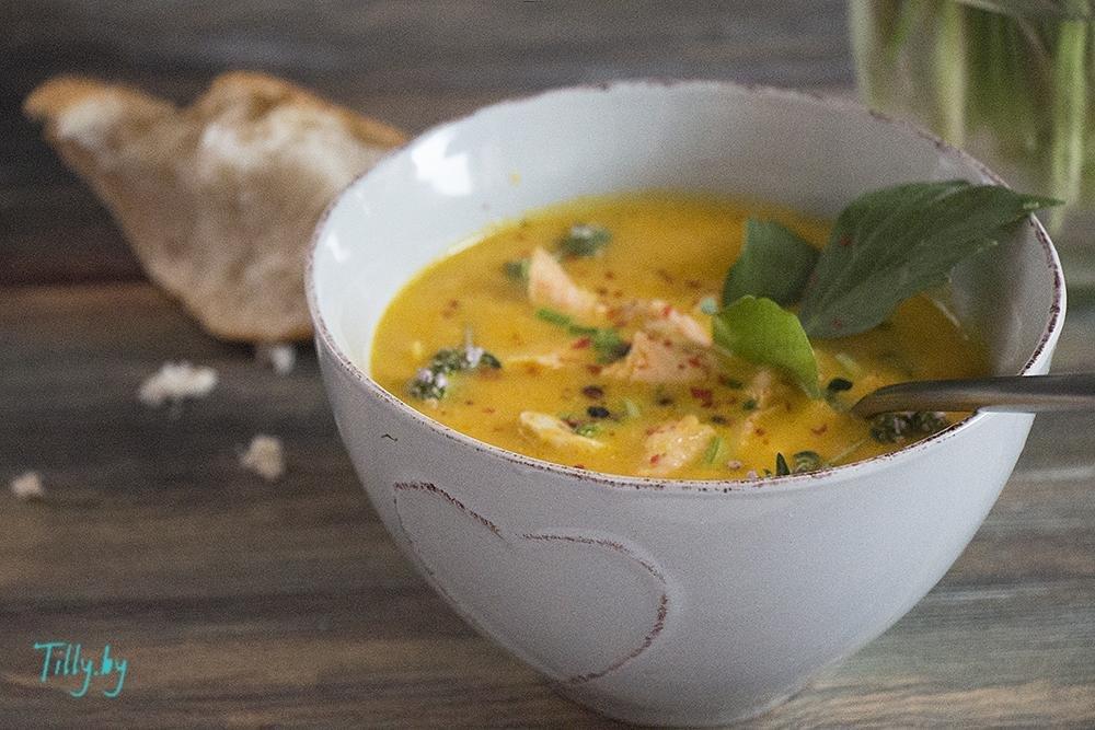 Наваристый рыбный суп