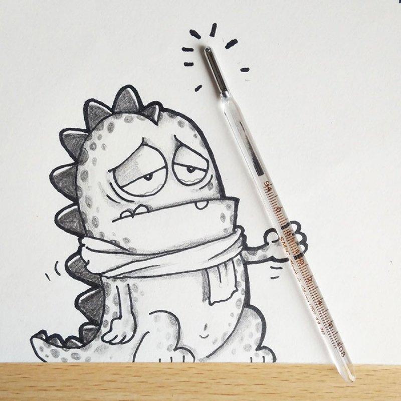 День, как нарисовать чтото прикольное