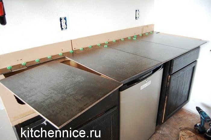 Кухонный гарнитур старый переделать своими руками