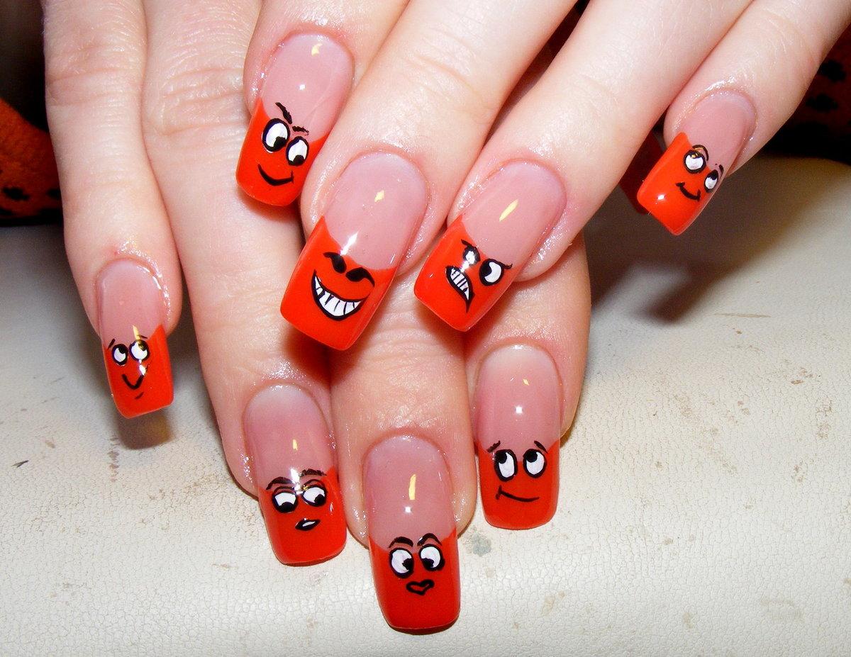 Дизайн ногтей прикольный картинки, будем вместе