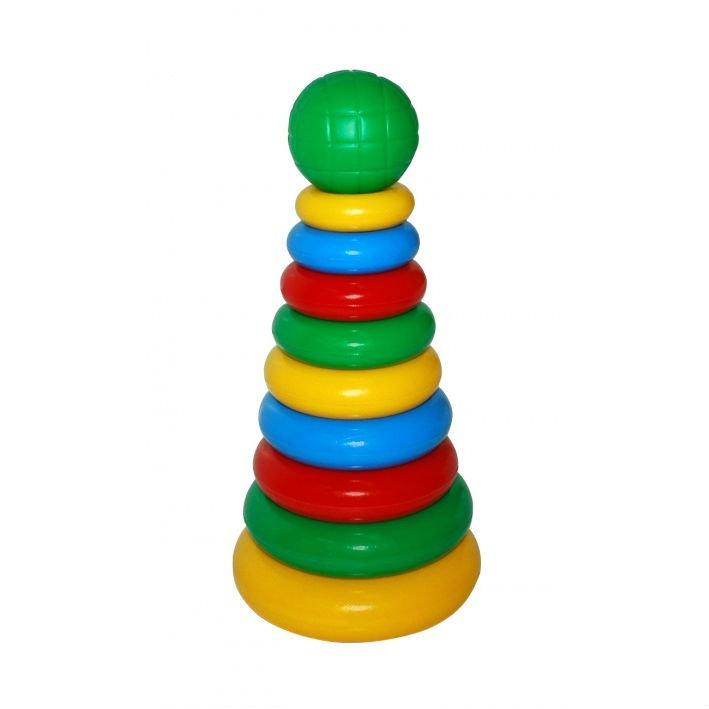 Пирамидка в картинках для детей однотонные