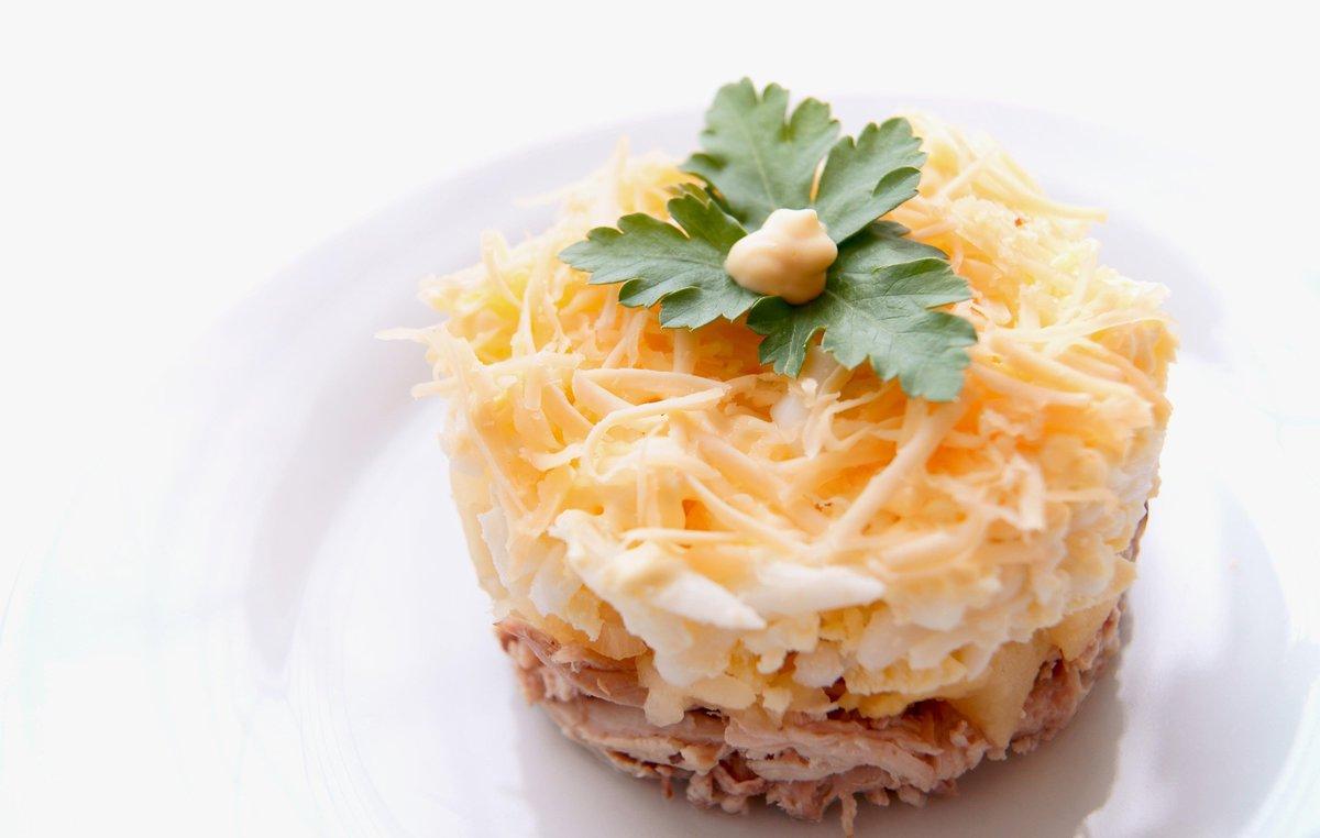 Фото рецепт ананас салат