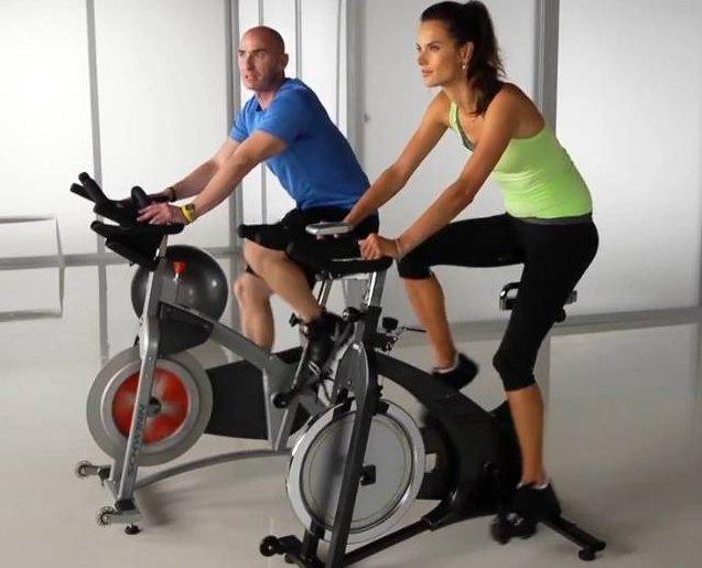 Езда на велотренажере похудеть