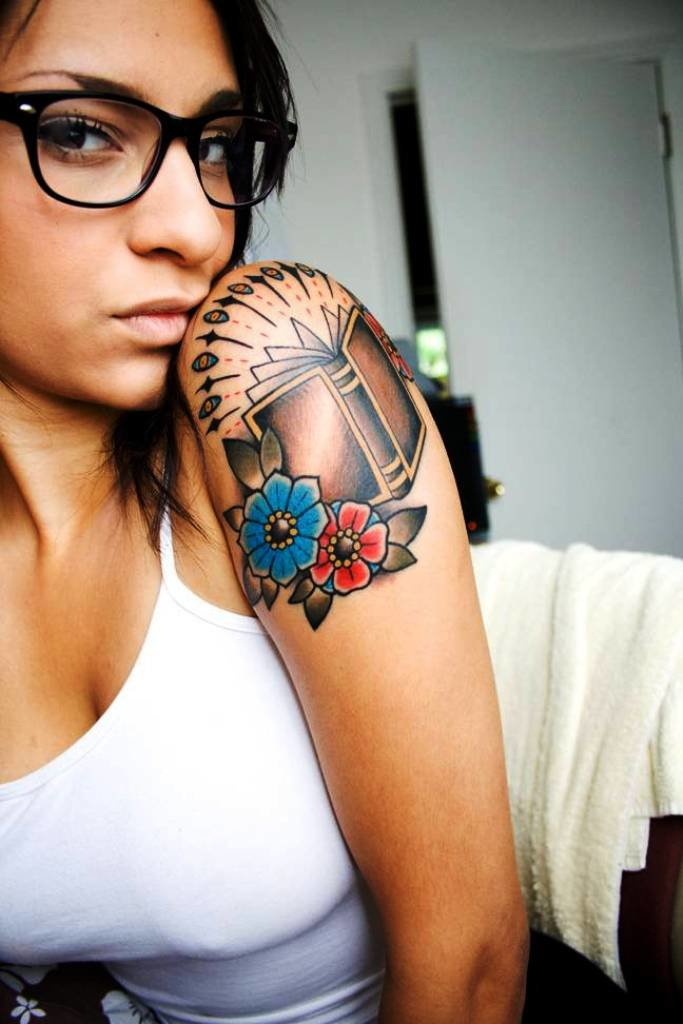 100 arm tattoo designs for girls - 683×1024