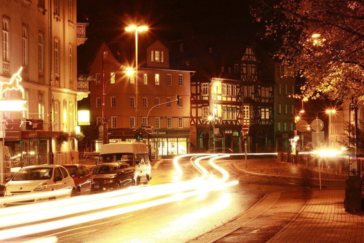 Фотографии вечернего города