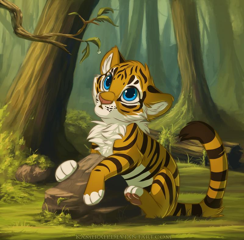 Картинки тигров мульт