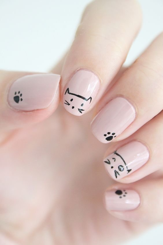 Простые и красивые рисунки на ногтях гель лаком, открытки торты