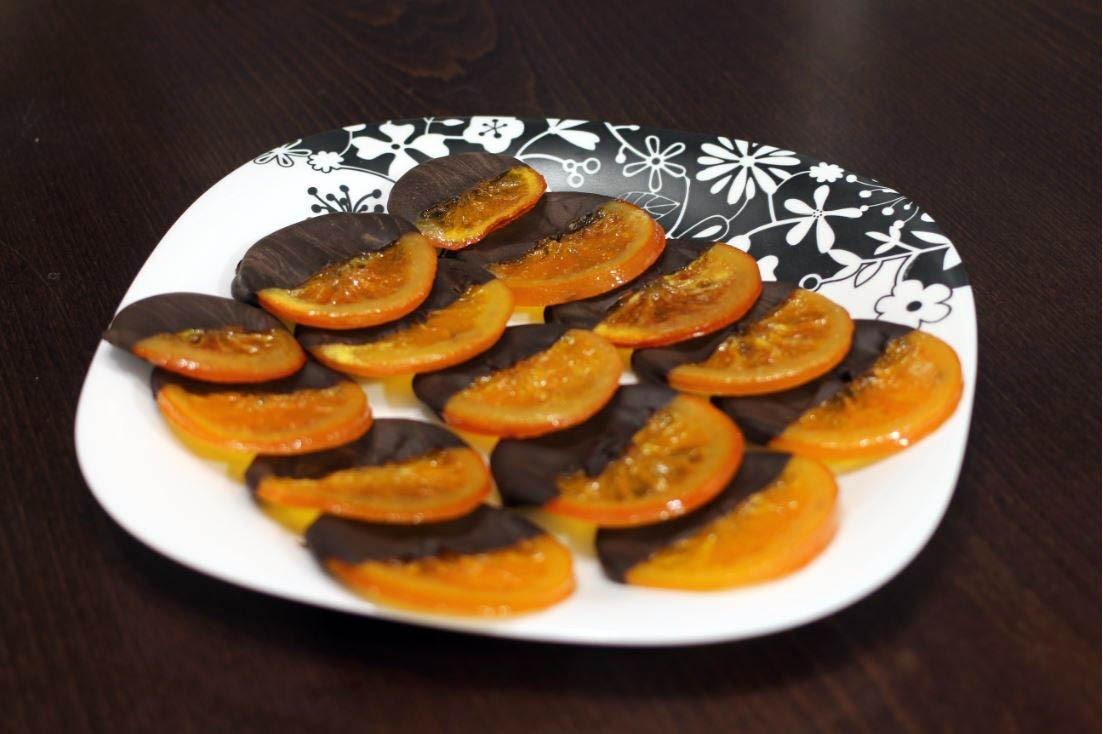 апельсин в шоколаде рецепт с фото плитка