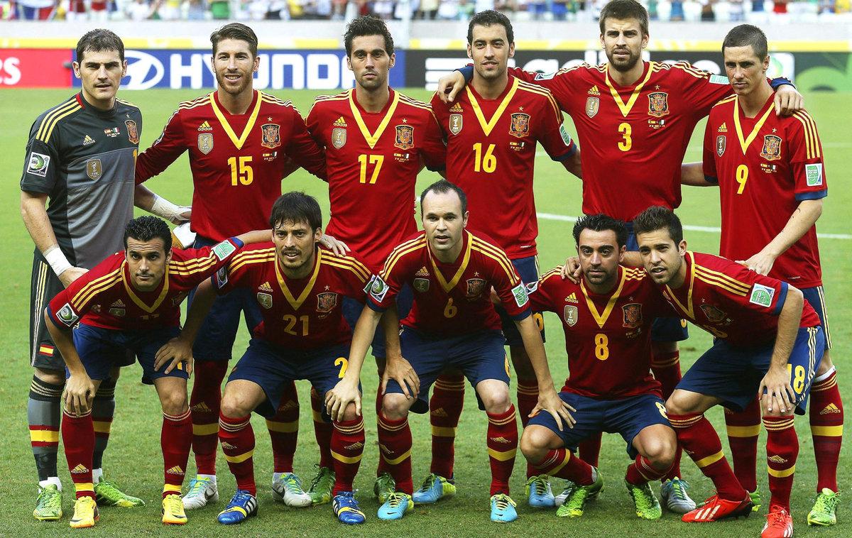 Футболисты испании имена и фото
