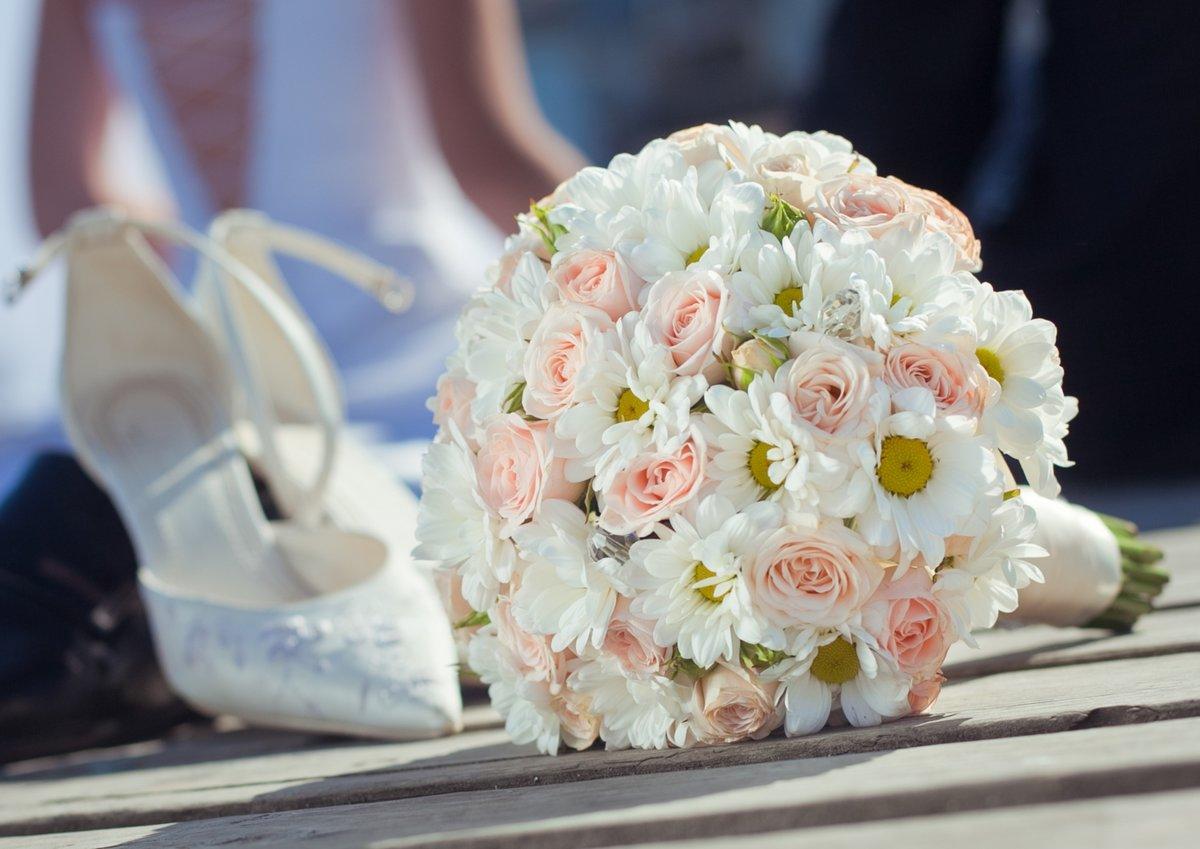 Красивые свадебные букет, букеты