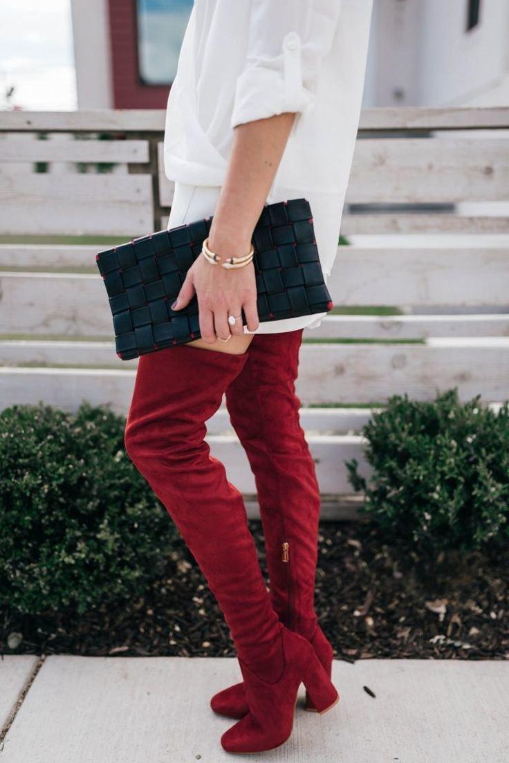 китайцы строят с чем носить красные ботинки женские фото новообразования под кожей