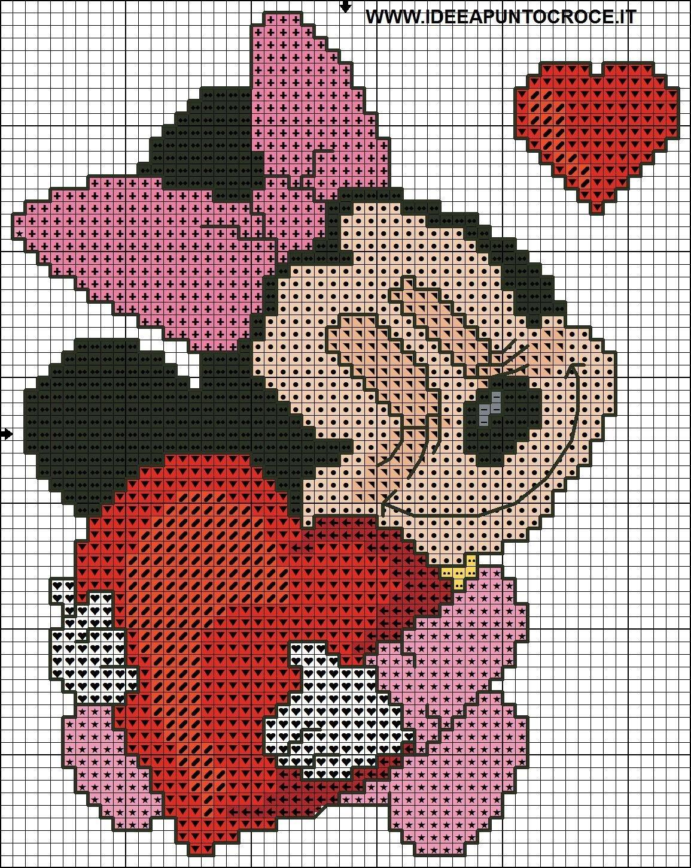 Картинки из мультиков для вязания спицами