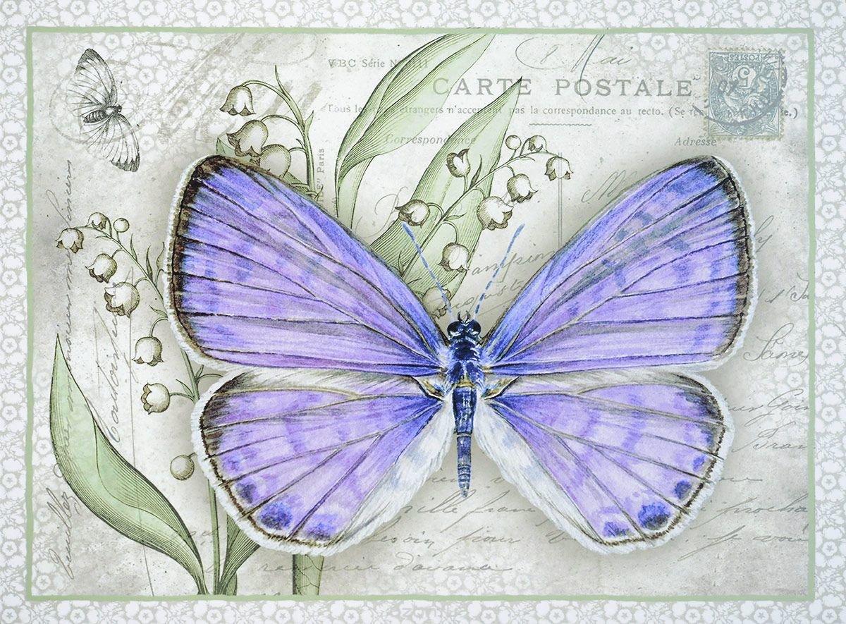Бабочки в открытки, картинки сердечек