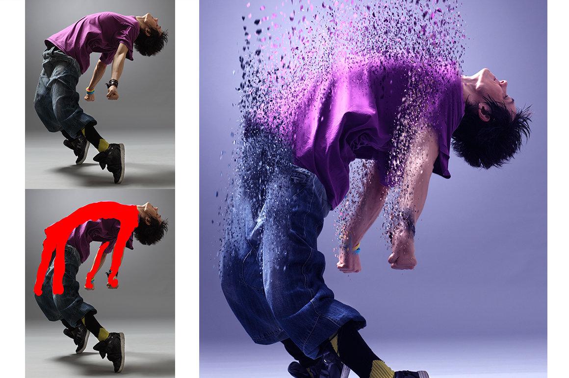 Эффект перехода фотографий