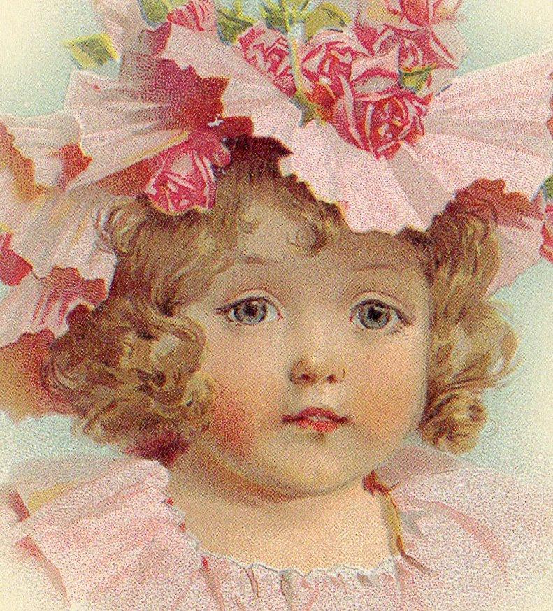 Поздравления, старинные открытки с детьми фото