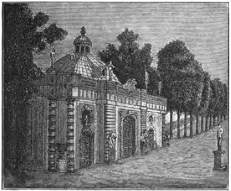 Грот в Летнем саду при Петре Великом.