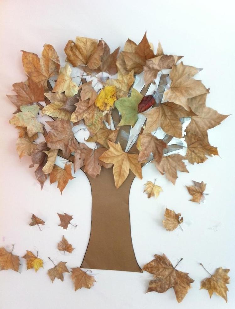 Осенние открытки из природного материала