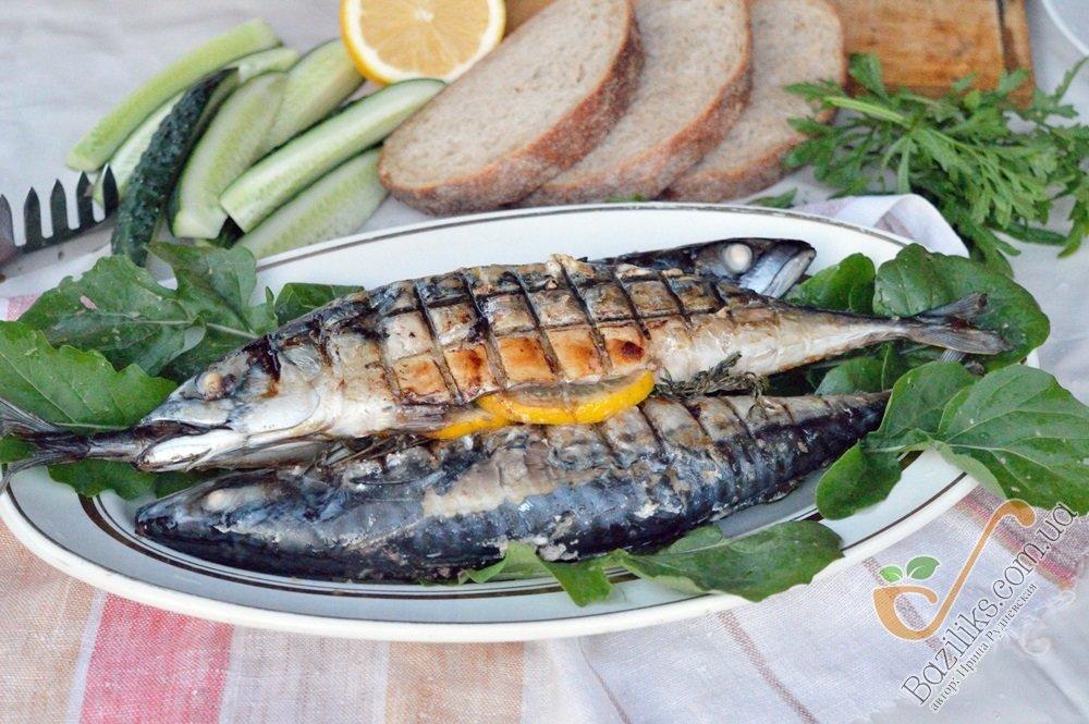 Как приготовить рыбу скумбрию в фольге