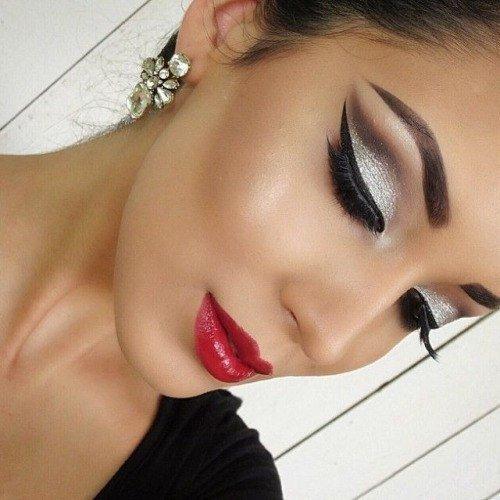 Карандашная техника в макияже фото и видео » Макияж