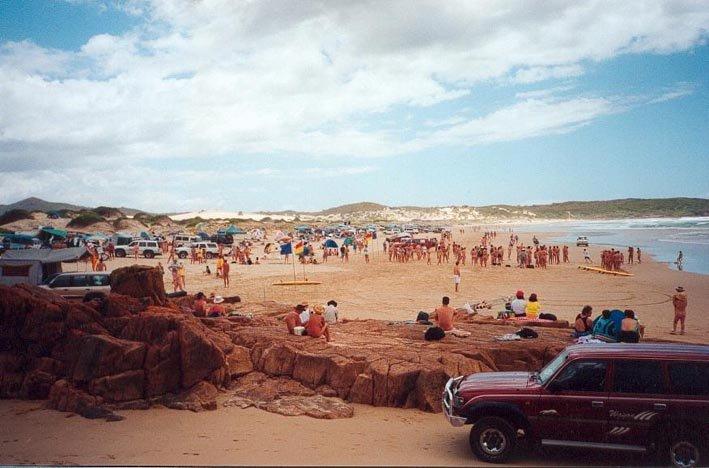 nudist Australia beach