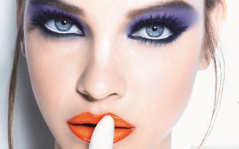 оригинальный макияж для тех, кто не боится экспериментировать