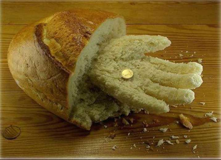 Поделки из хлеба
