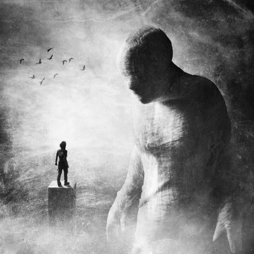 черно-белые картинки душа будет