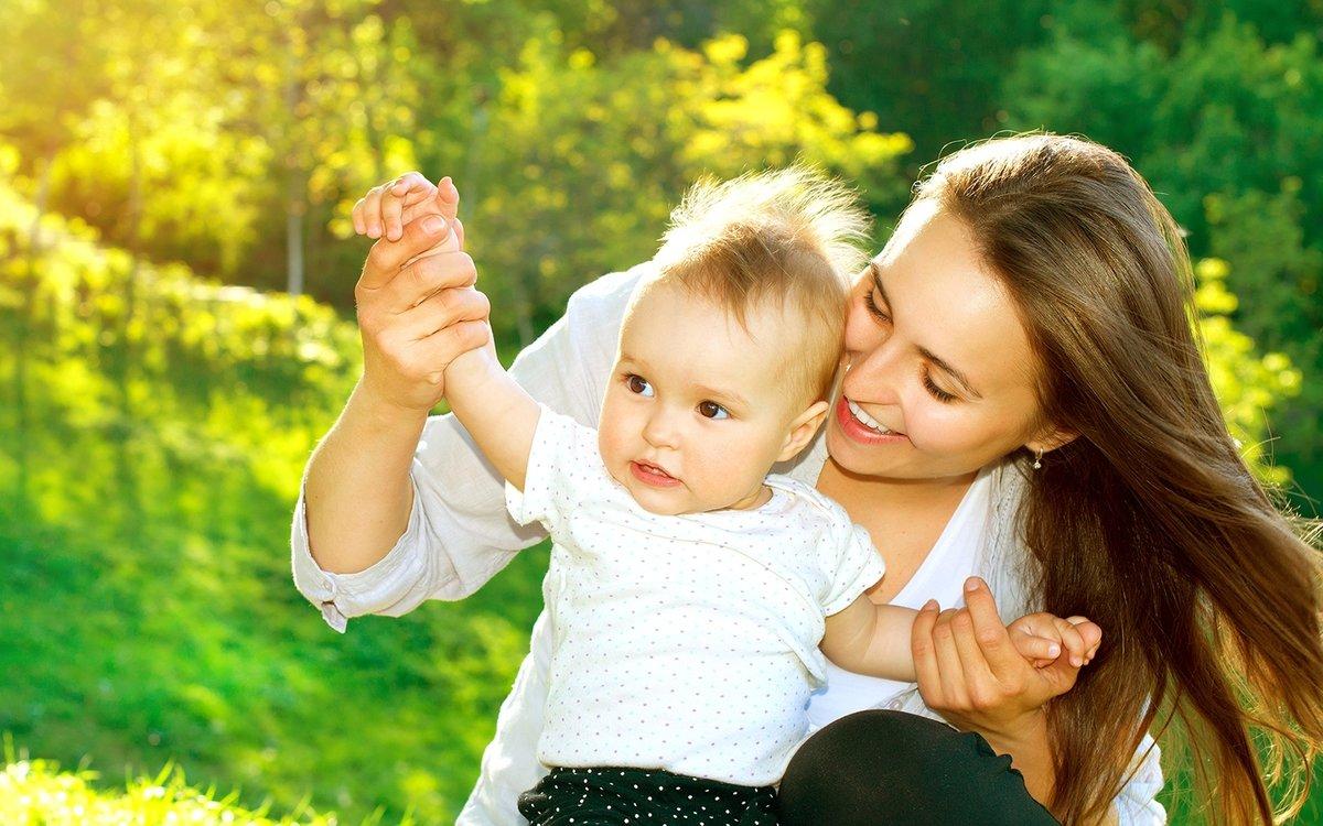 Красивые картинки с мамой и ребенком