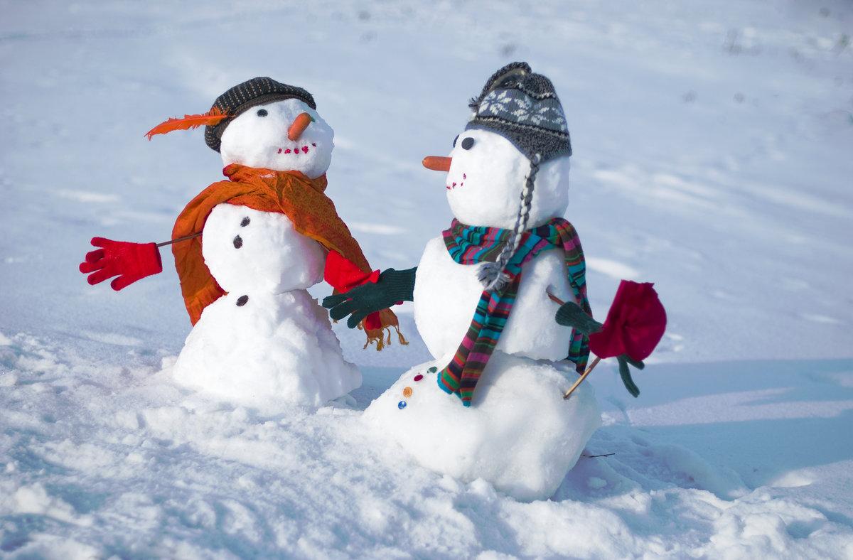 Картинки где есть снеговики мощный приворотный
