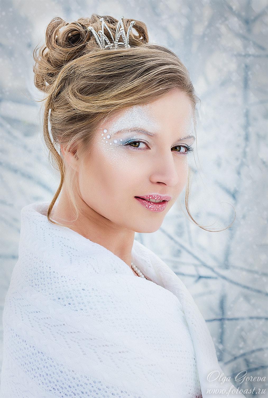 какой макияж лучше для зимней фотосессии наработал