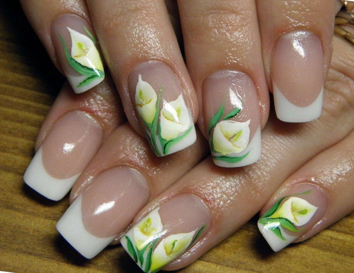 картинки ногтей с лилиями каталог афоризмами