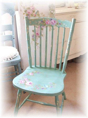 детский стульчик шебби шик