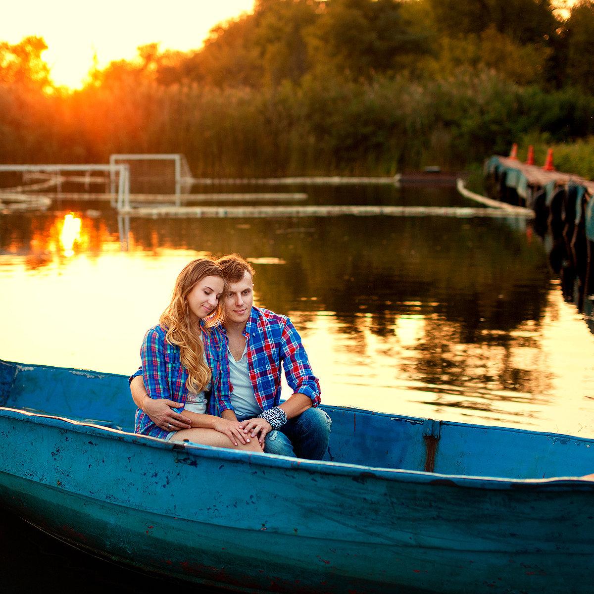 как одеться для фотосессии в лодке узнал