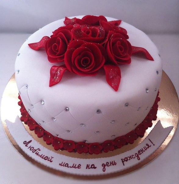 торт красивый на день рождения фото