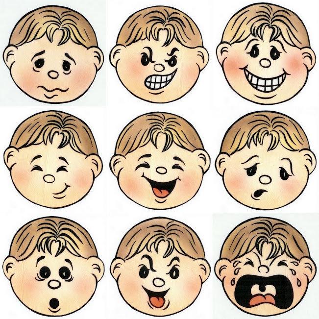 Эмоции картинка для детей