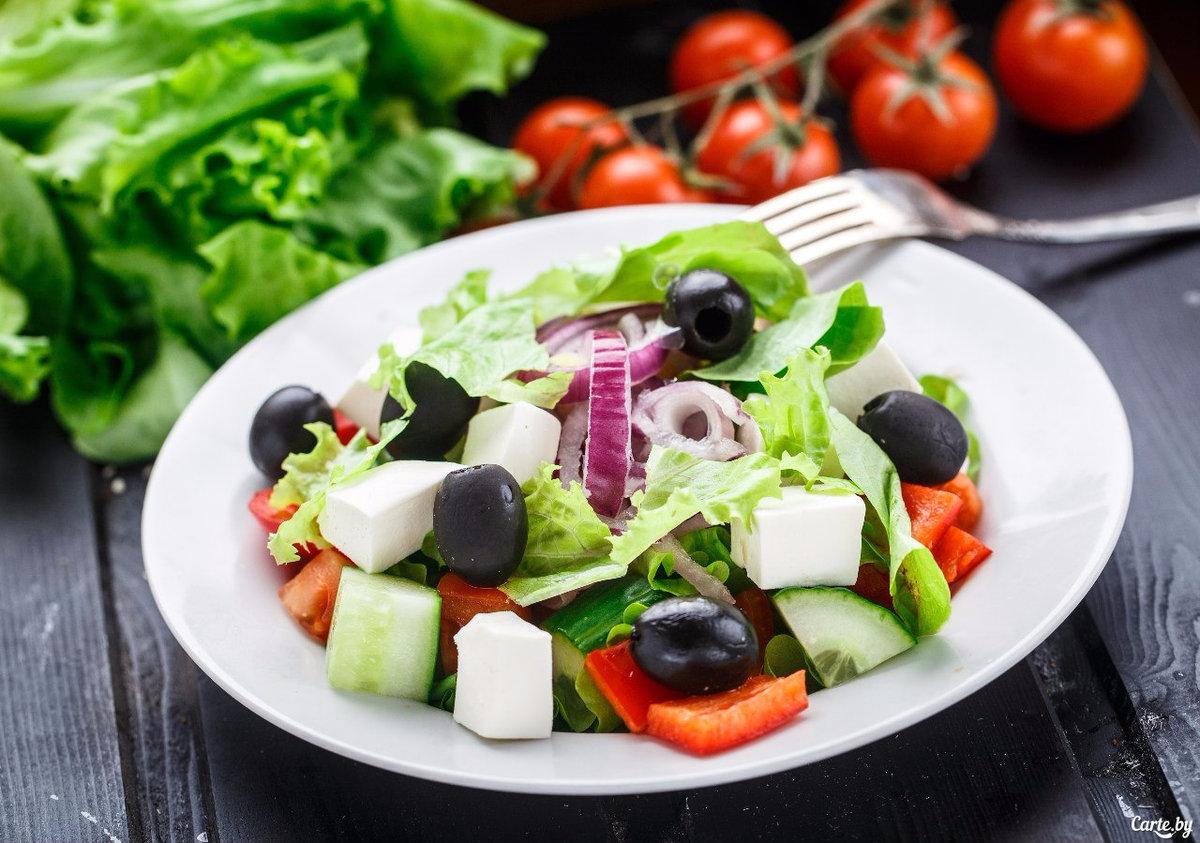 Красивые фото салатов