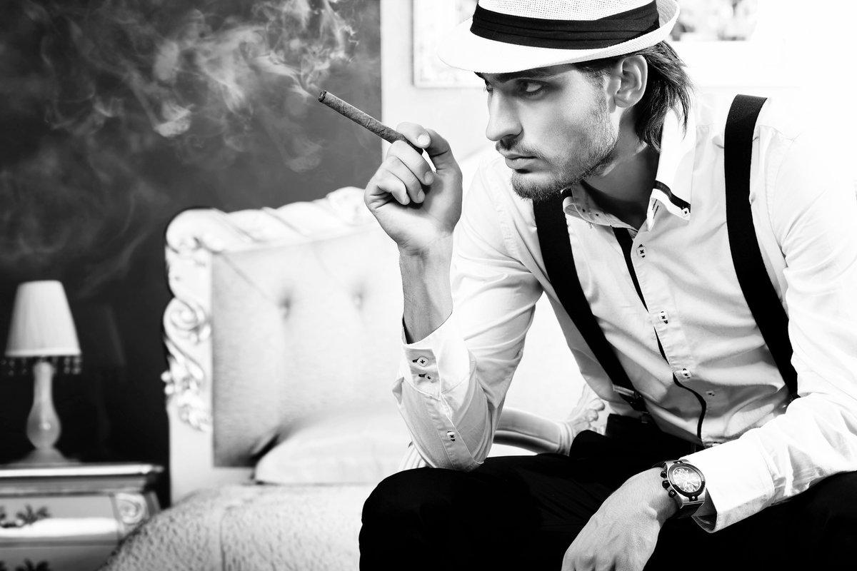 если парень с сигарой картинка начала присылать любимому