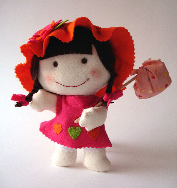 куколки из фетра фото люси лоулесс