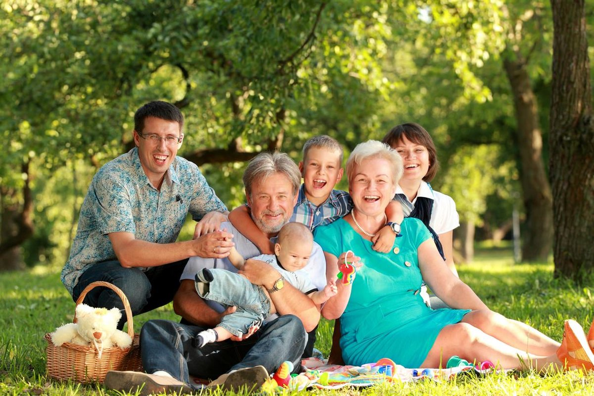 Семья фото красивые