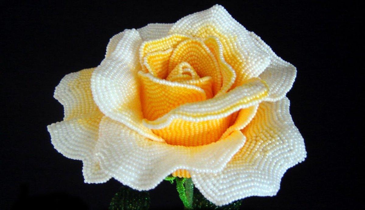 розы из бисера мастер класс пошаговое фото работал заказу предприятия