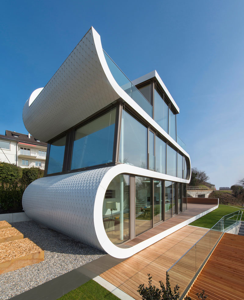 необычный дом