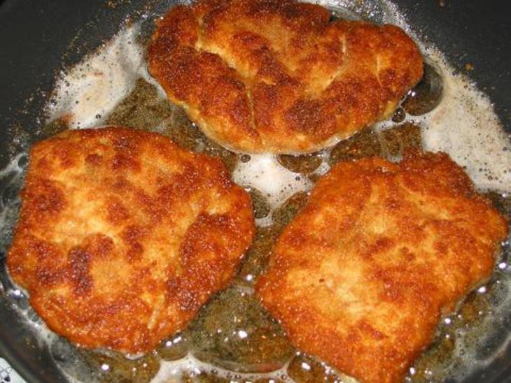 отбивные из куриного филе на сковороде в панировке