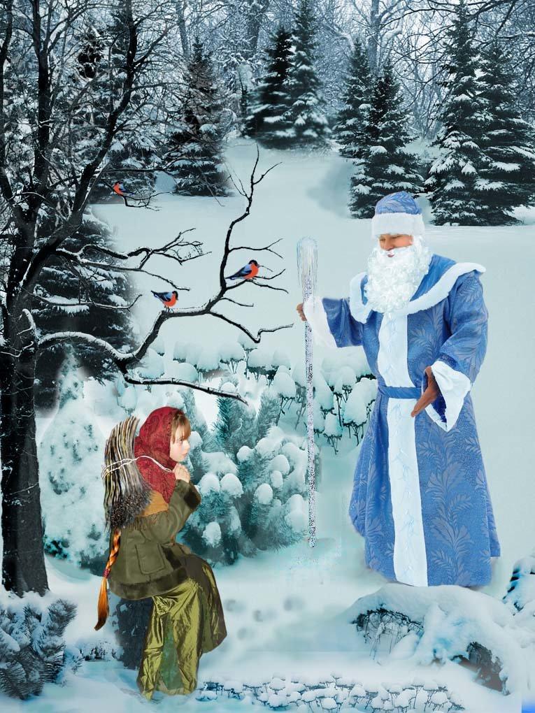 Картинки морозко из сказки для детей