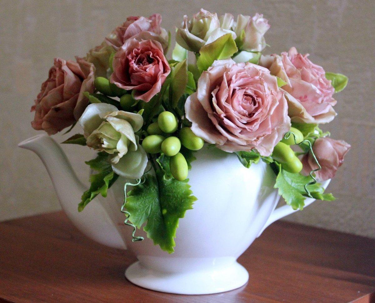парочка цветы из глины с картинками острове тасиро считается