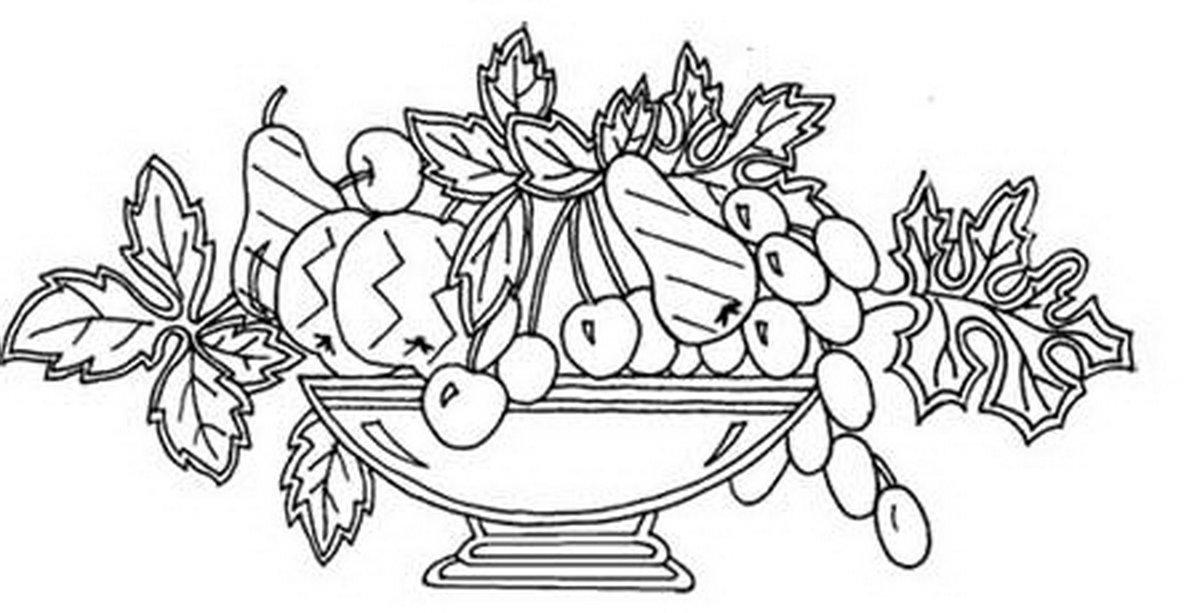 картинки для раскрашивания ваза с листьями свадьбу сестре