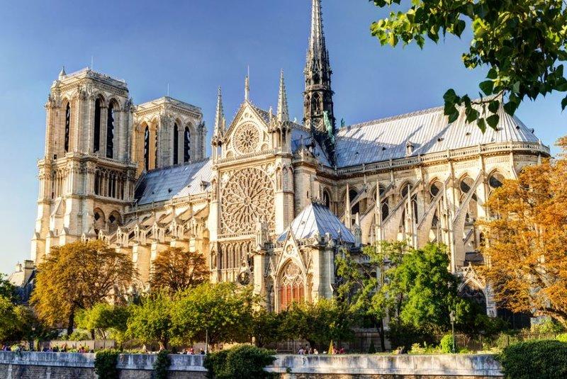 Собор Парижской Богоматери. Париж