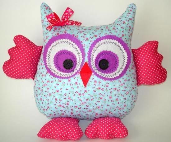 декоративная подушка сова своими руками мастер класс будет годом Желтой