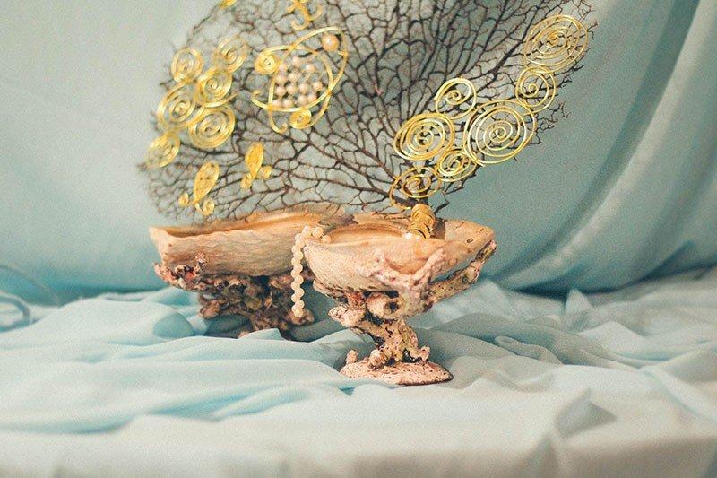 """Ваза """"Дары морских глубин"""". Оригинальные подарки ручной работы (handmade)"""
